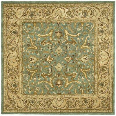 Cranmore Blue / Beige Oriental Rug Rug Size: Square 6 x 6
