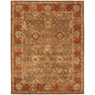 Cranmore Moss/Rust Area Rug Rug Size: 83 x 11