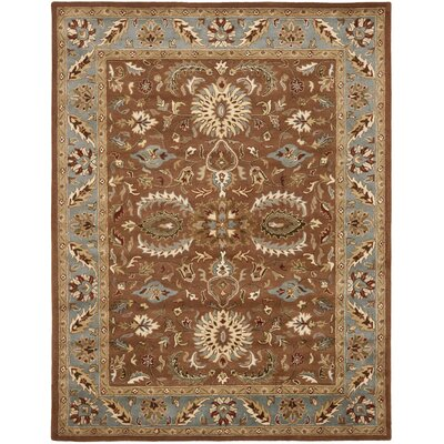Cranmore Brown & Blue Area Rug Rug Size: 83 x 11