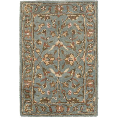 Cranmore Blue Area Rug Rug Size: 2 x 3