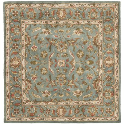 Cranmore Blue Area Rug Rug Size: Square 6