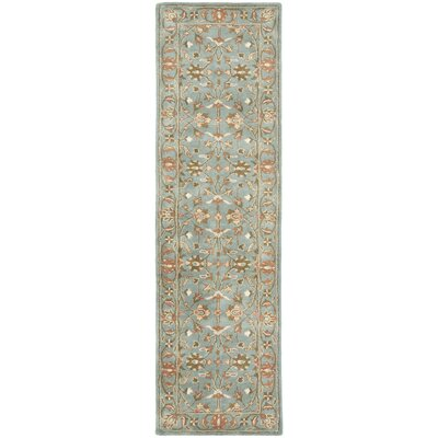 Cranmore Blue Area Rug Rug Size: Runner 23 x 22