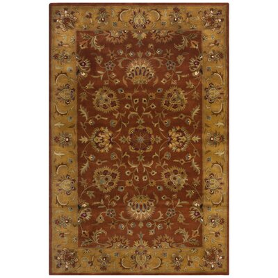 Cranmore Red/Natural Rug Rug Size: Rectangle 6 x 9