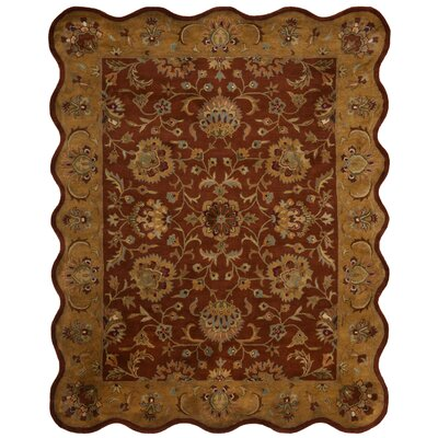 Cranmore Red/Natural Rug Rug Size: Novelty 76 x 96