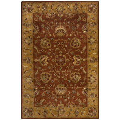 Cranmore Red/Natural Rug Rug Size: 6 x 9