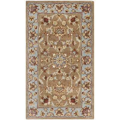 Cranmore Brown Rug Rug Size: Rectangle 6 x 9