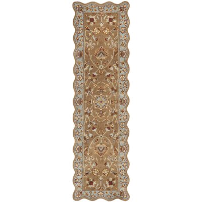 Cranmore Brown Rug Rug Size: Novelty Runner 23 x 8