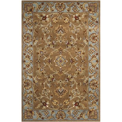 Cranmore Brown Rug Rug Size: 4 x 6
