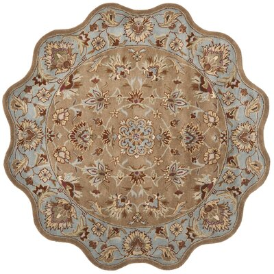 Cranmore Brown Rug Rug Size: Novelty Round 6