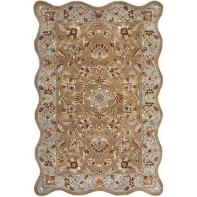 Cranmore Brown Rug Rug Size: Novelty 6 x 9