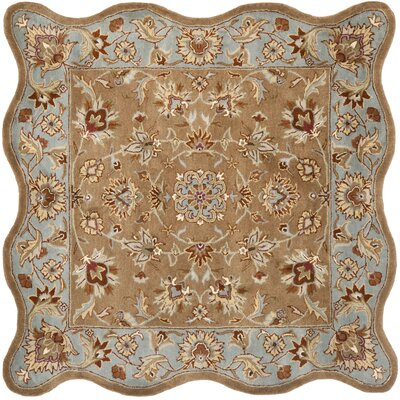 Cranmore Brown Rug Rug Size: Novelty Square 6