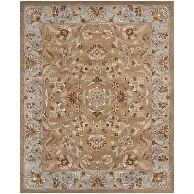 Cranmore Brown Rug Rug Size: 76 x 96