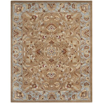 Cranmore Brown/Tan Area Rug Rug Size: 9 x 12