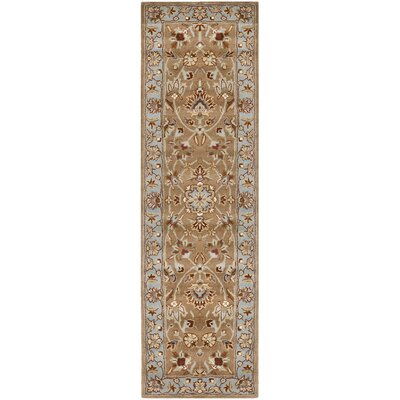 Cranmore Brown/Tan Area Rug Rug Size: Runner 26 x 6