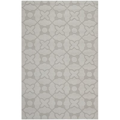 Opal Modern Silver Area Rug Rug Size: Rectangle 5 x 8