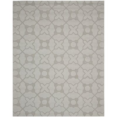 Opal Modern Silver Area Rug Rug Size: Rectangle 83 x 11