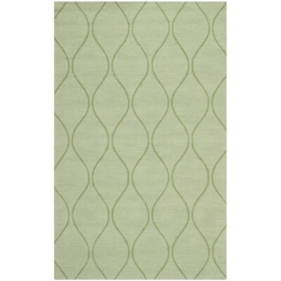 Opal Green Area Rug Rug Size: 4 x 6