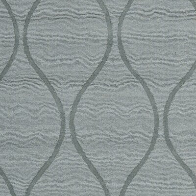 Opal Modern Grey Area Rug Rug Size: Square 6