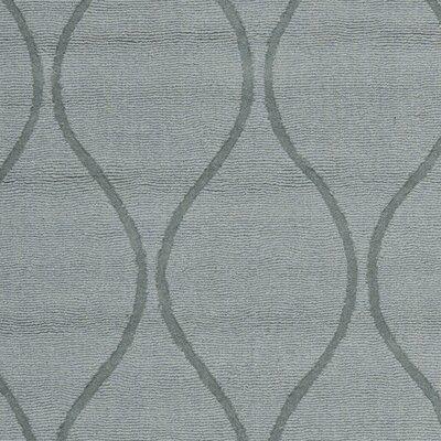 Opal Modern Grey Area Rug Rug Size: Square 6