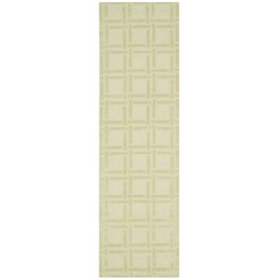 Opal Lime Area Rug Rug Size: Runner 23 x 8