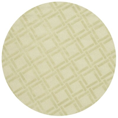 Opal Lime Area Rug Rug Size: Round 5