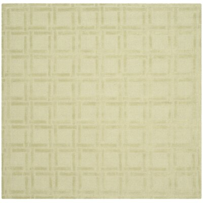 Opal Lime Area Rug Rug Size: Square 6