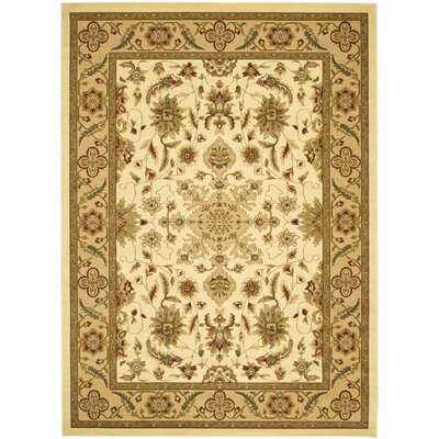 Ottis Cream/Tan Area Rug Rug Size: 9 x 12