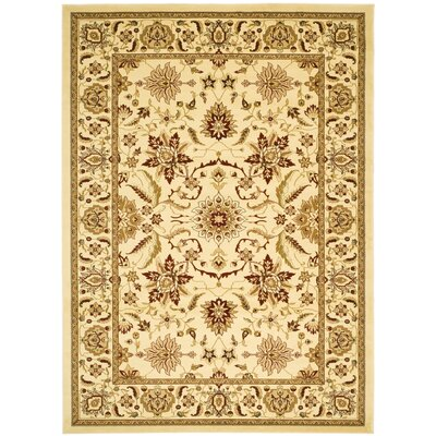 Ottis Cream Area Rug Rug Size: Rectangle 79 x 109