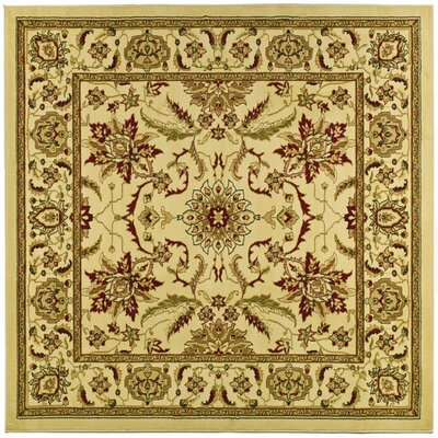 Ottis Cream Area Rug Rug Size: Square 8