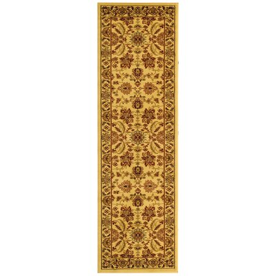 Ottis Cream Area Rug Rug Size: Runner 23 x 12