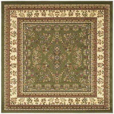 Ottis Sage/Ivory Area Rug Rug Size: Square 6