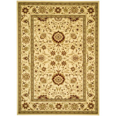 Ottis Ivory Area Rug Rug Size: Rectangle 53 x 76