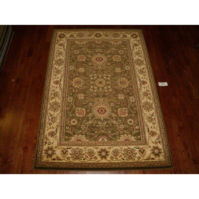 Ottis Sage/Ivory Persian Area Rug Rug Size: Rectangle 9 x 12