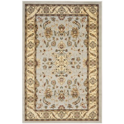 Ottis Gray/Beige Area Rug Rug Size: Rectangle 6 x 9