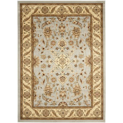 Ottis Gray/Beige Area Rug Rug Size: Rectangle 4 x 6