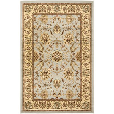 Ottis Gray/Beige Area Rug Rug Size: Rectangle 33 x 53