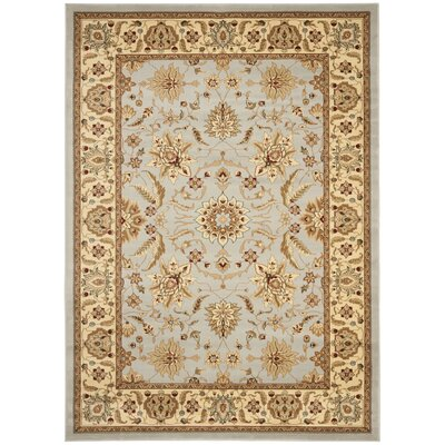 Ottis Gray/Beige Area Rug Rug Size: Rectangle 8 x 11