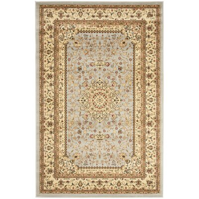 Ottis Gray/Beige Area Rug Rug Size: Rectangle 53 x 76