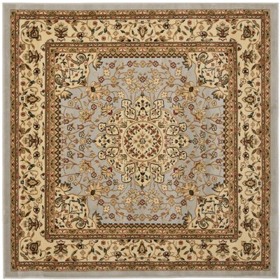Ottis Gray/Beige Area Rug Rug Size: Square 6