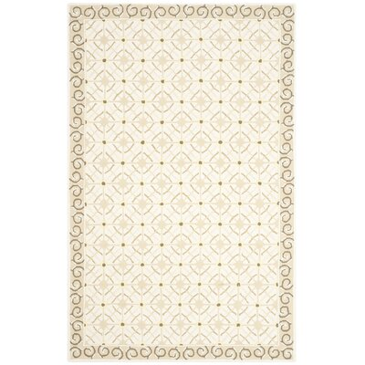 Parish Taupe/Beige Area Rug Rug Size: Rectangle 39 x 59