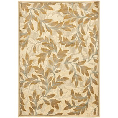 Patrick Light Creme Area Rug Rug Size: Rectangle 53 x 76