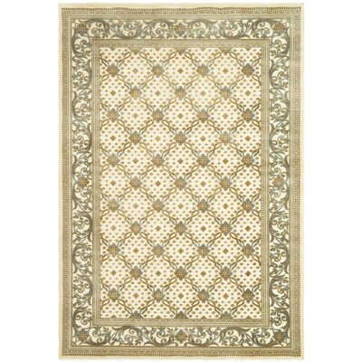 Patrick Dark Creme Area Rug Rug Size: Rectangle 8 x 112