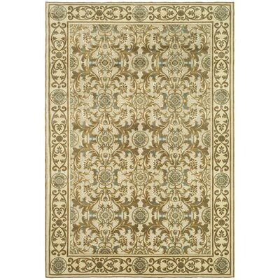 Patrick Light Dark Creme Area Rug Rug Size: Rectangle 4' x 5'7