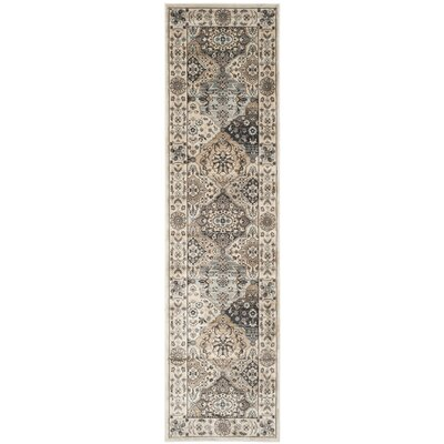 Petronella Ivory Area Rug Rug Size: Runner 2'2