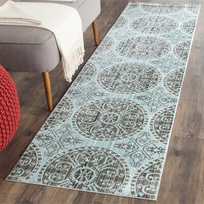 Regis Brown/Alpine Area Rug Rug Size: Runner 23 x 8