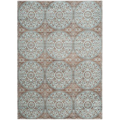 Regis Brown/Alpine Area Rug Rug Size: Rectangle 8 x 10