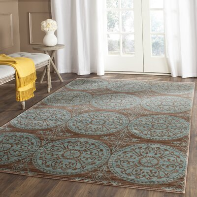 Regis Brown & Alpine Area Rug Rug Size: 5 x 8