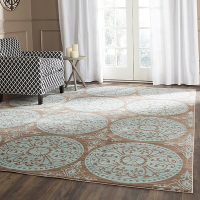 Regis Brown/Alpine Area Rug Rug Size: Rectangle 9 x 12