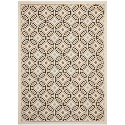 Rennie Cream / Chocolate Rug