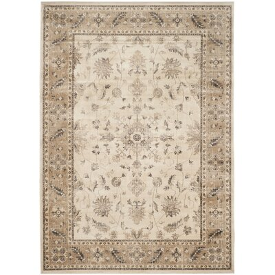 Rindge Stone / Caramel Oriental Rug Rug Size: Rectangle 10 x 14